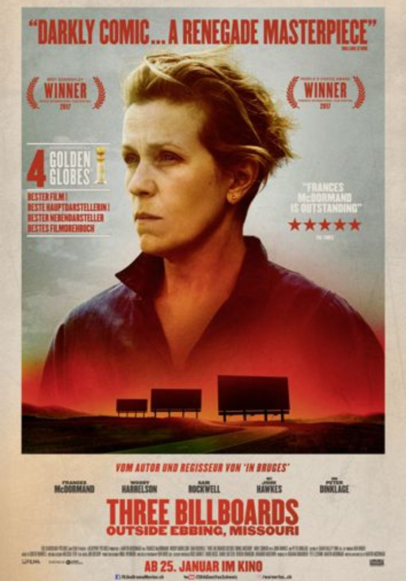 Three Billboards - Originalfassung