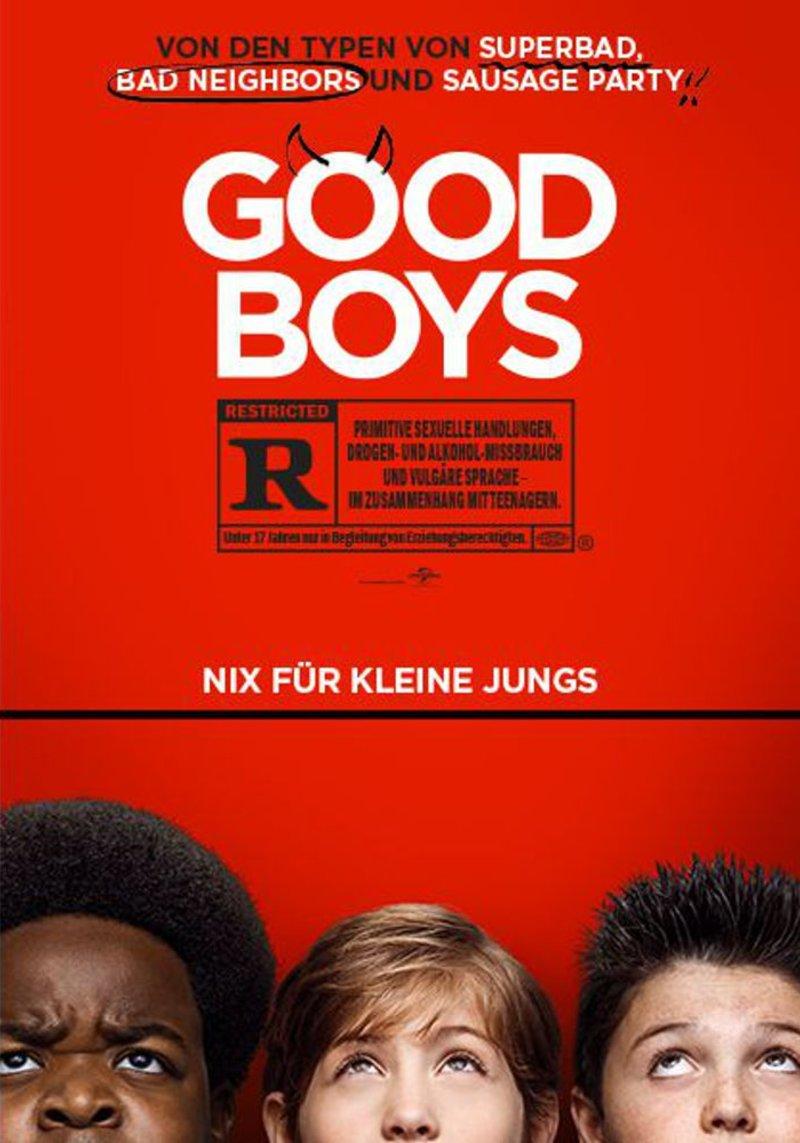 Good Boys Nix Für Kleine Jungs
